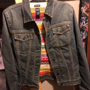 Gap Wool Lined Denim Jacket